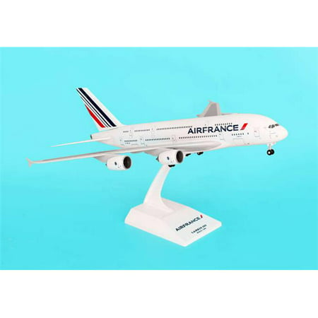 Daron Skymarks Air France A380 Model Kit with Gear (1/200 Scale) (A380 Gear)