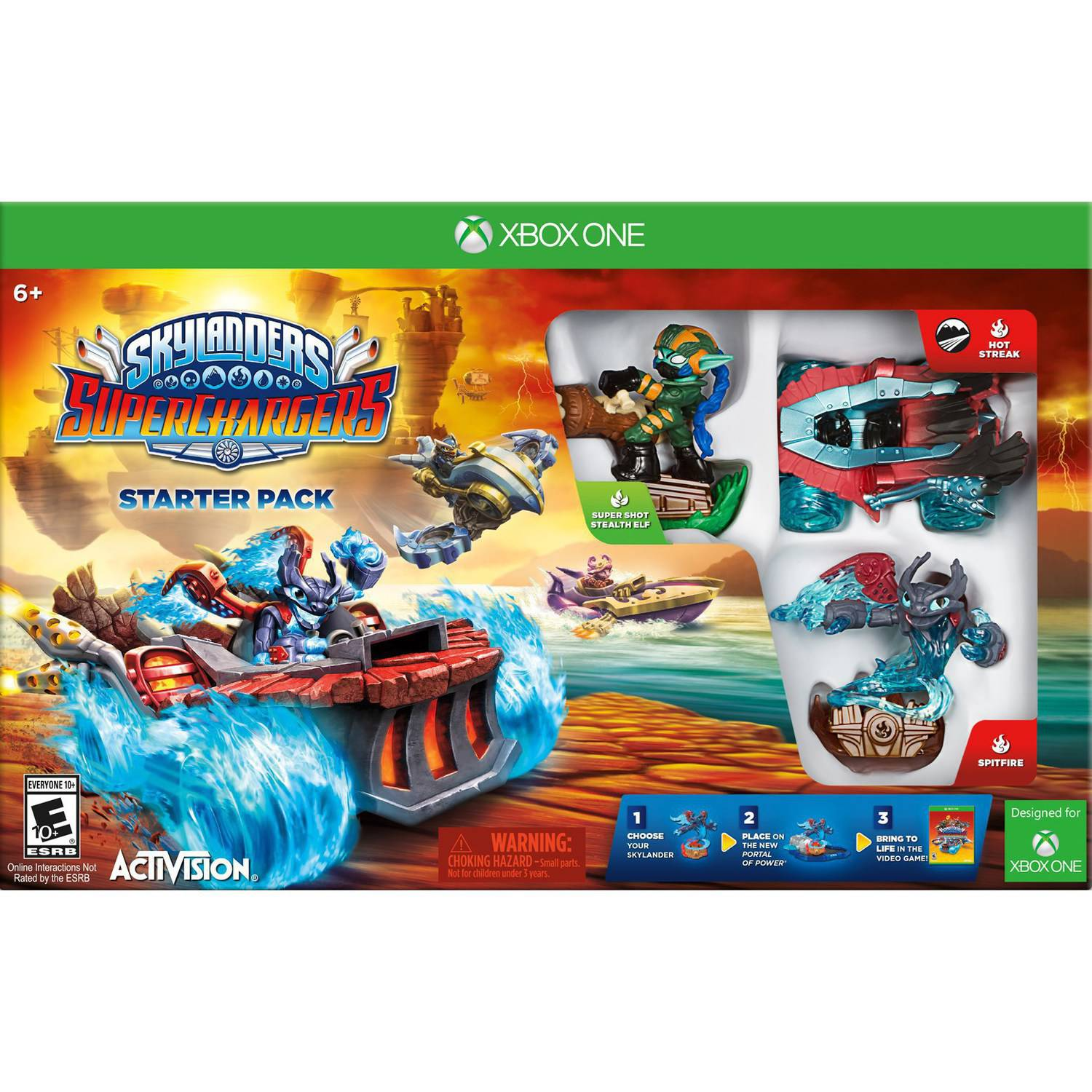Skylanders Superchargers Starter Kit (Xbox One)