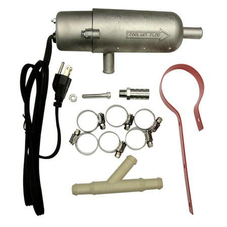 120 Volt 850 Watt External Tank Engine Heater for Farm and Tractor 18 Quart