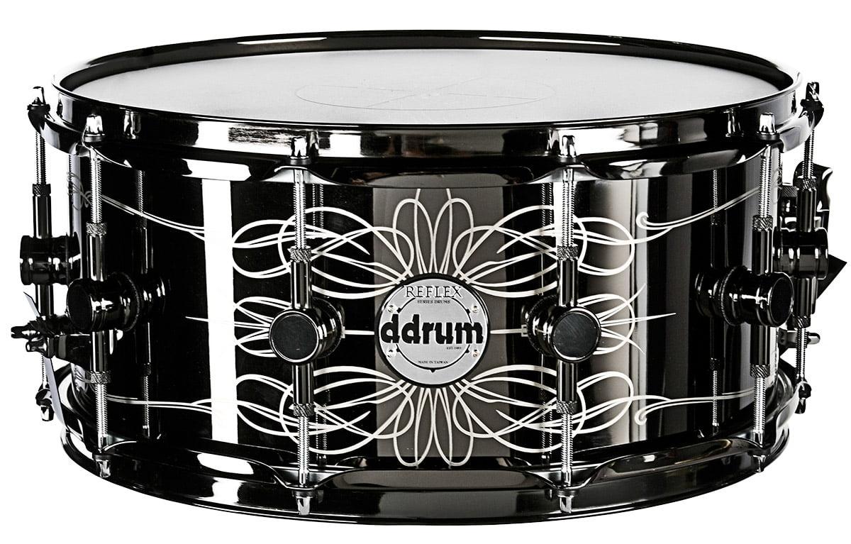ddrum Tattooed Lady 6.5x14 Steel Snare Drum by ddrum