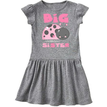 Pink Ladybug Big Sister Toddler - Ladybug Dress Toddler