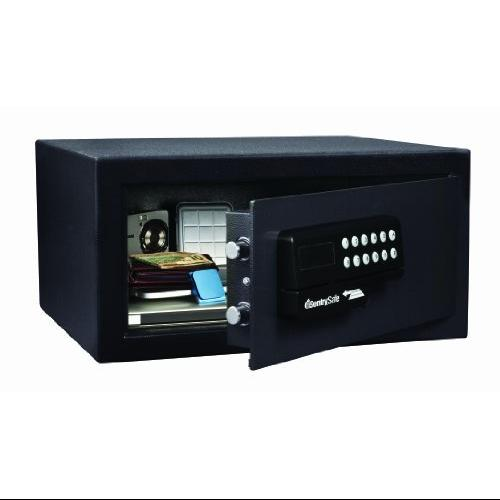 "Sentry Safe Hl100esb Card Access Safe - 1.10 Ft - Electronic, Programmable Lock Lock - 2 X Live-locking Bolt[s] - 9"" X 18"" X 16"" - Black (HL100ESB)"