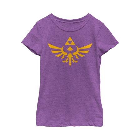 Nintendo Girls' Legend of Zelda Triforce T-Shirt - Hot Zelda Girls