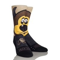 Rock Em Elite, Colorado Buffaloes - Ralphie Mascot, Licensed Crew Socks