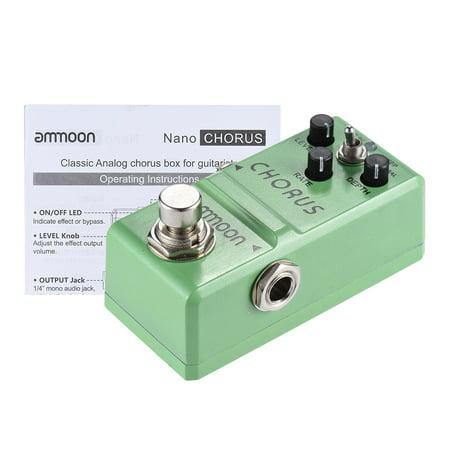 ammoon Nano Series Effet Guitare Pédale chorus analogique Body True Bypass en alliage d'aluminium - image 6 of 7