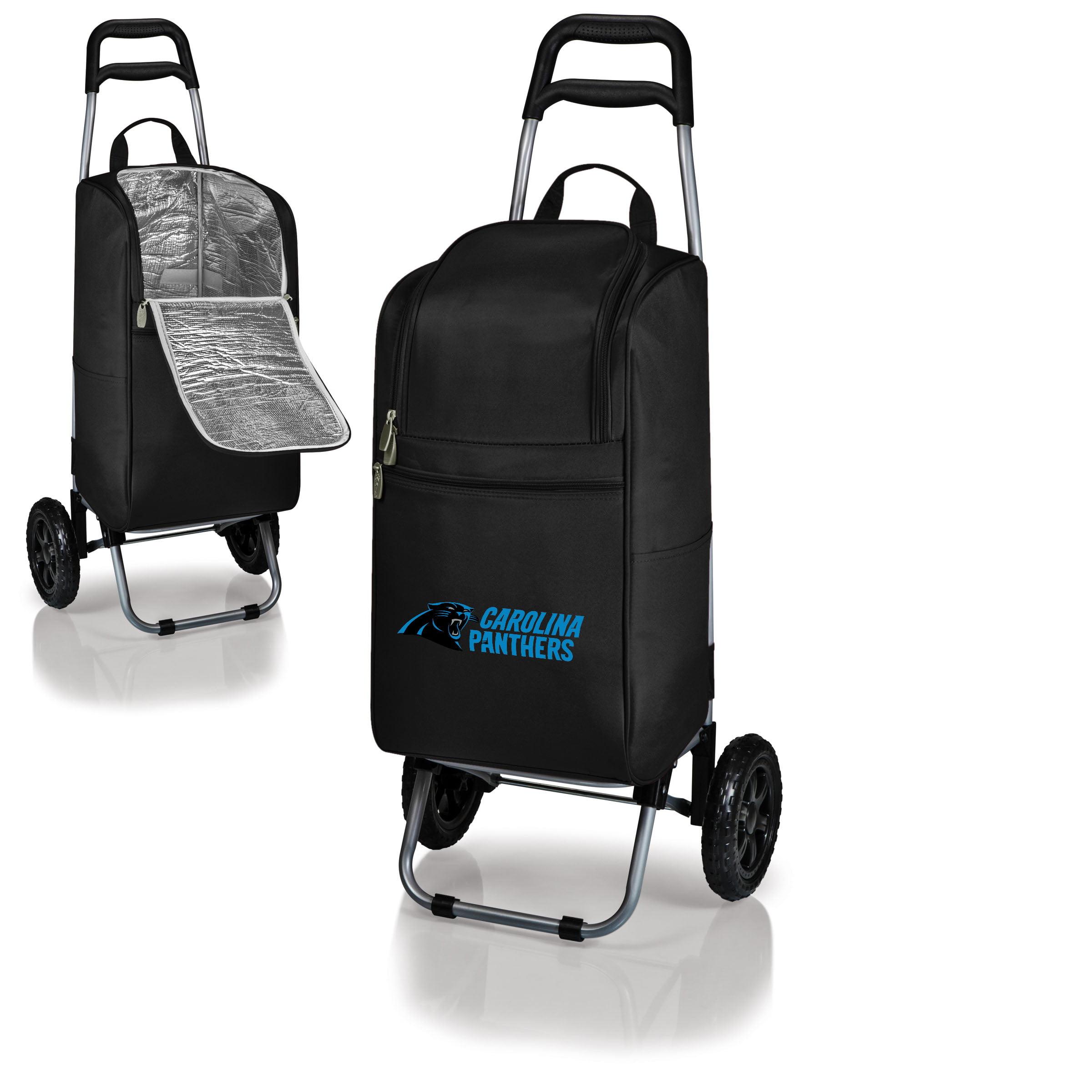 Carolina Panthers Cart Cooler - Black - No Size