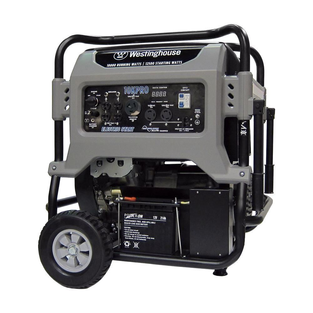 Westinghouse 10KPRO 10,000W Pro Series 680cc V-Twin Engine Portable Generator