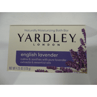 Yardley London Moisturizing Bar English Lavender with Essential Oils 4.25 Oz - 6 Pack