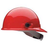 HONEYWELL FIBRE-METAL Hard Hat,8 pt. Ratchet,Red E2QSW15A000