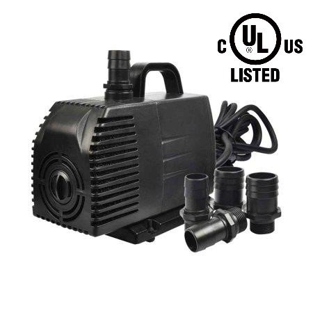Simple Deluxe LGPUMP1056G 1056 GPH UL Listed Submersible Pump with 15