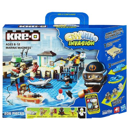 KRE-O CityVille Invasion Marina Madness Set (A3249), Build your own city with the Marina Madness set By KREO - Party City Marina