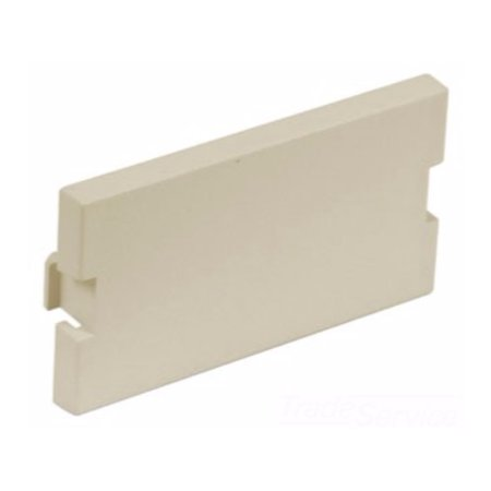 Hubbell IMB1EI ISTATION Module, Blank, 1 Unit Surface Mount, Electric Ivory