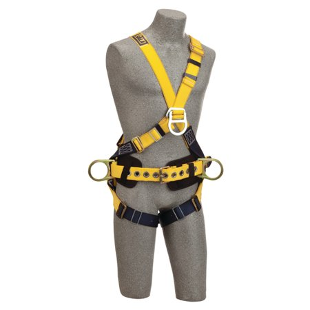 DBI SALA 1101809 Delta™ Cross-Over Construction Style Climbing Harness