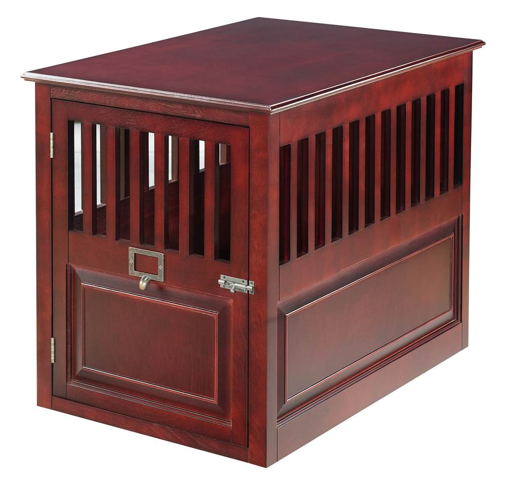 St. James Crate in Mahogany Finish