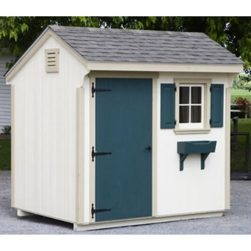 Lancaster County Barns 8 x 6 ft. Quaker Storage Shed
