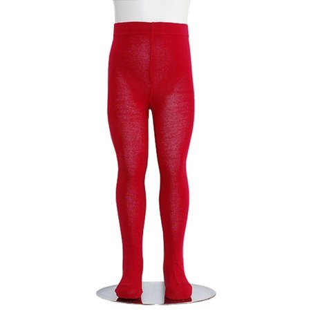 Cheap Red Tights (Red Piccolo Heavyweight Opaque Toddler Little Girls Tights)