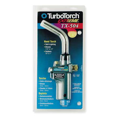 TURBOTORCH 0386G1293 Torch,Hand,Swirl Flame ()