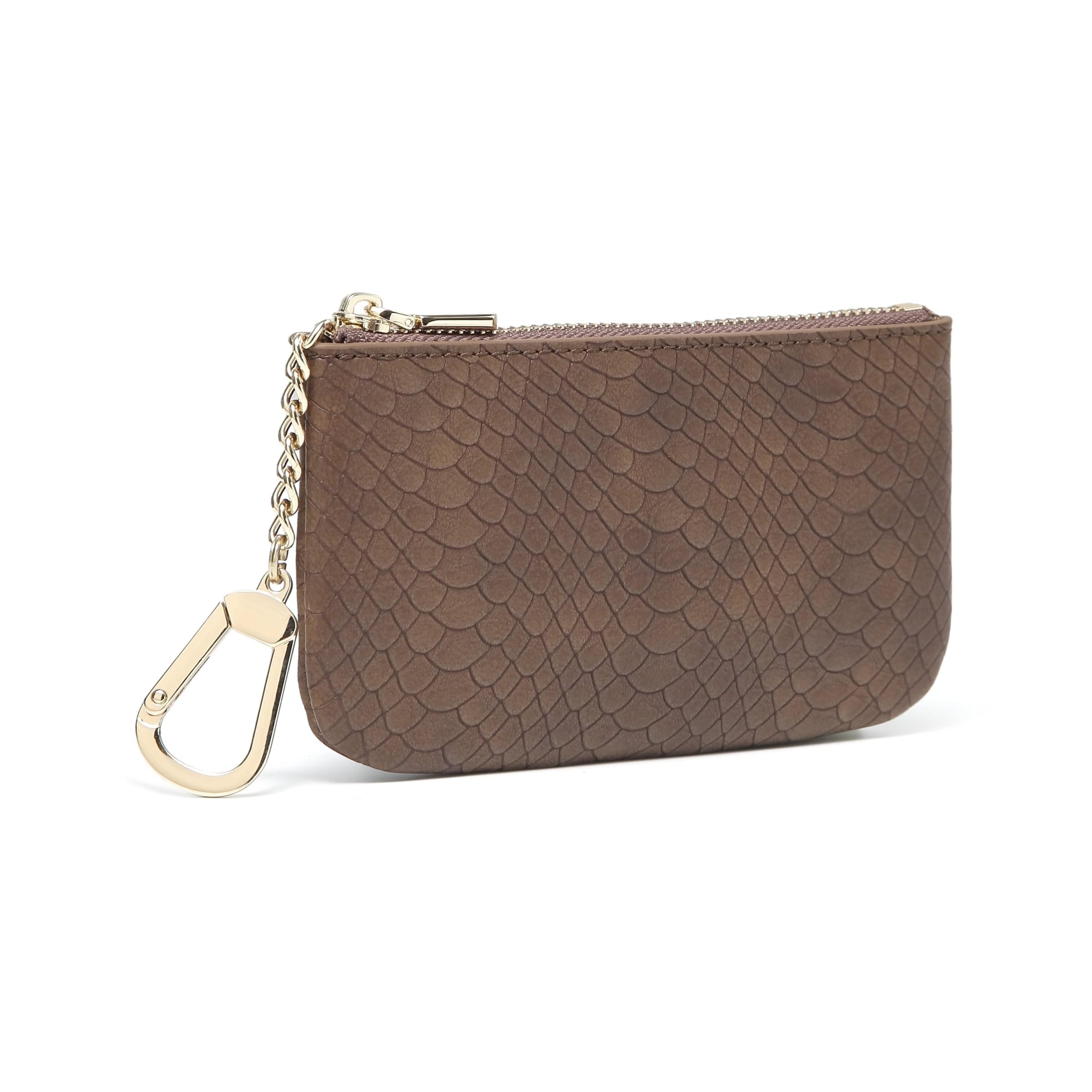 Brighton Leather POSY SKUNK With Daisy Flower Handbag Purse FOB Keychain NEW