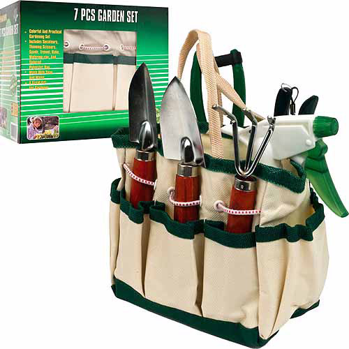 Stalwart 7-In-1 Plant Care Garden Tool Set (Indoor and Outdoor) by TRADEMARK GAMES INC