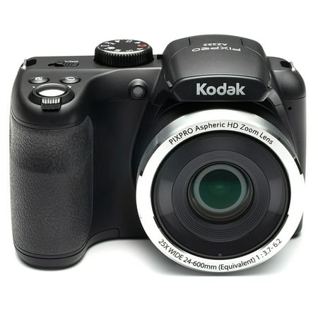 KODAK PIXPRO AZ252 Bridge Digital Camera - 16 MP - 25X Optical Zoom - HD 720p Video (Black)