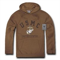 Rapid Dominance S45-MAR-COY-01 Pullover Hoodies, Us Marines, Coyote, Small