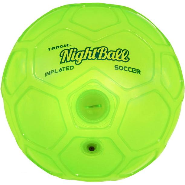 Tangle Night Soccer Ball Size 5 Green Walmart Com Walmart Com