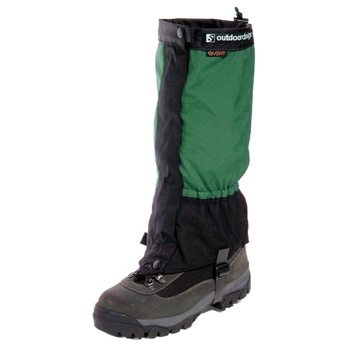 Outdoor Designs Perma eVent Gaiters-Color:Green,Size:Small