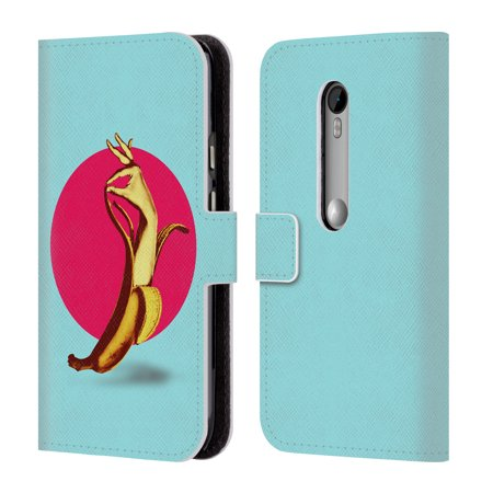 OFFICIAL ALI GULEC THE FUN LEATHER BOOK WALLET CASE COVER FOR MOTOROLA PHONES