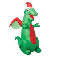 Holiday Time Yard Inflatables Dragon, 3.5 ft