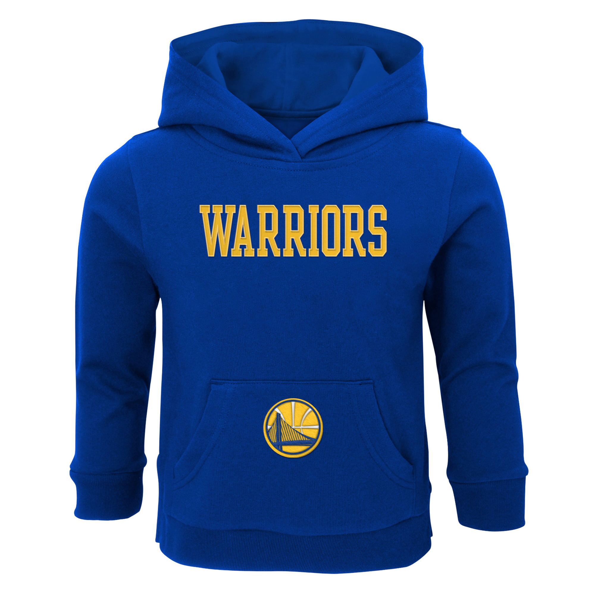 Toddler Royal Golden State Warriors Team Pullover Hoodie