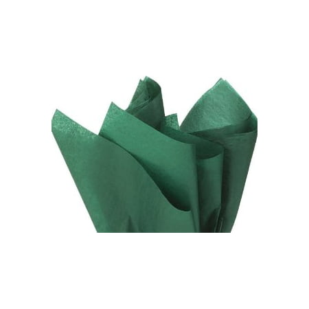 100 Sheets FOREST GREEN Gift Wrap Pom Pom Tissue Paper - Mint Green Tissue Paper