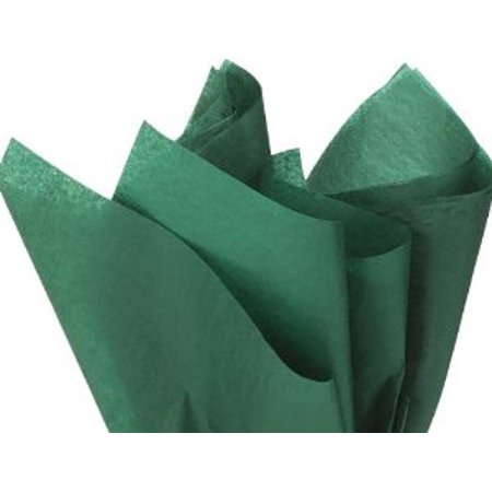 100 Sheets FOREST GREEN Gift Wrap Pom Pom Tissue Paper