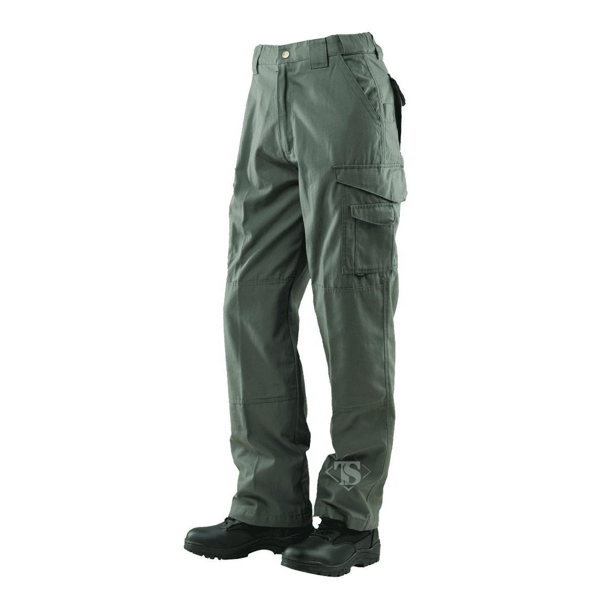 Tru-Spec 1071 24-7 Men's Tactical Pants, 100% Cotton, Olive Drab