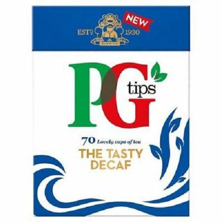 - PG Tips Pyramid Tea Bag Decaf 70 Count Tea Bag