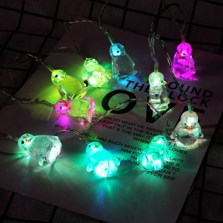 snorda Penguin Animal Shape String Lights 10 LED 1.65M