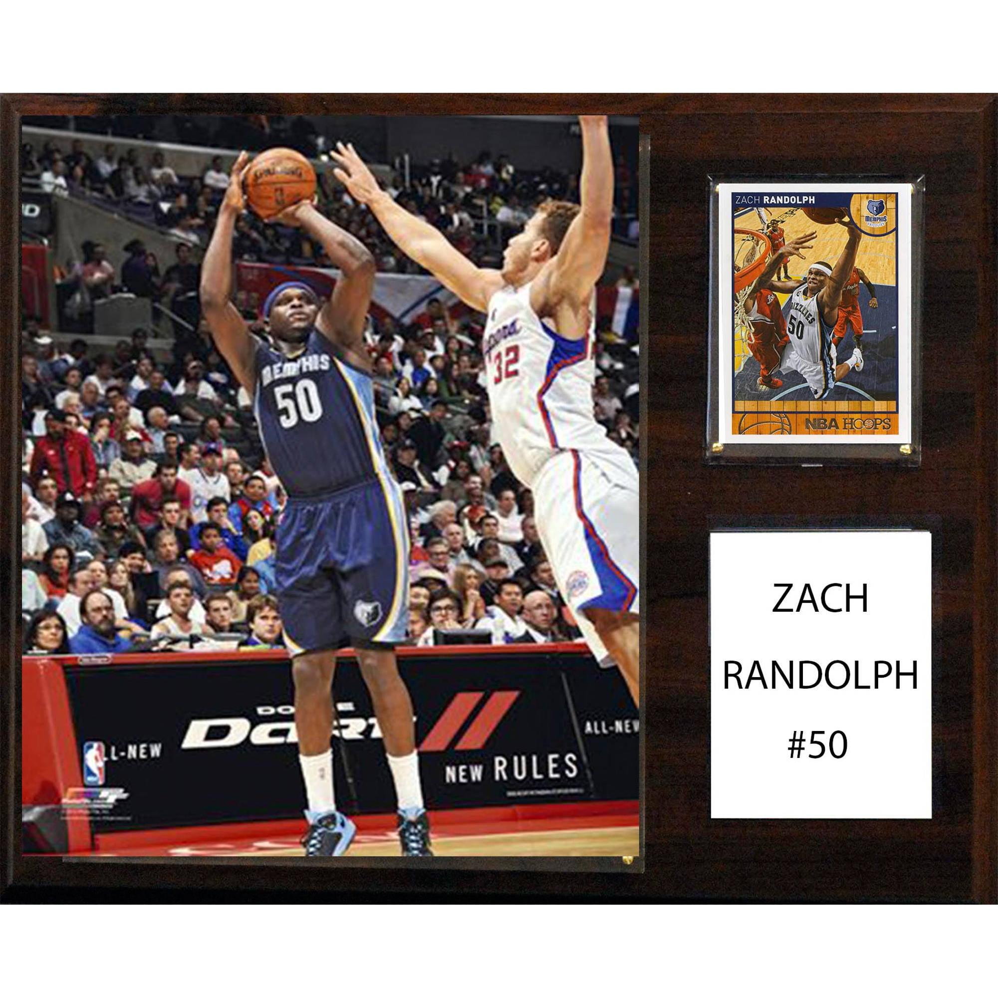 C&I Collectables NBA 12x15 Zach Randolph Memphis Grizzlies Player Plaque
