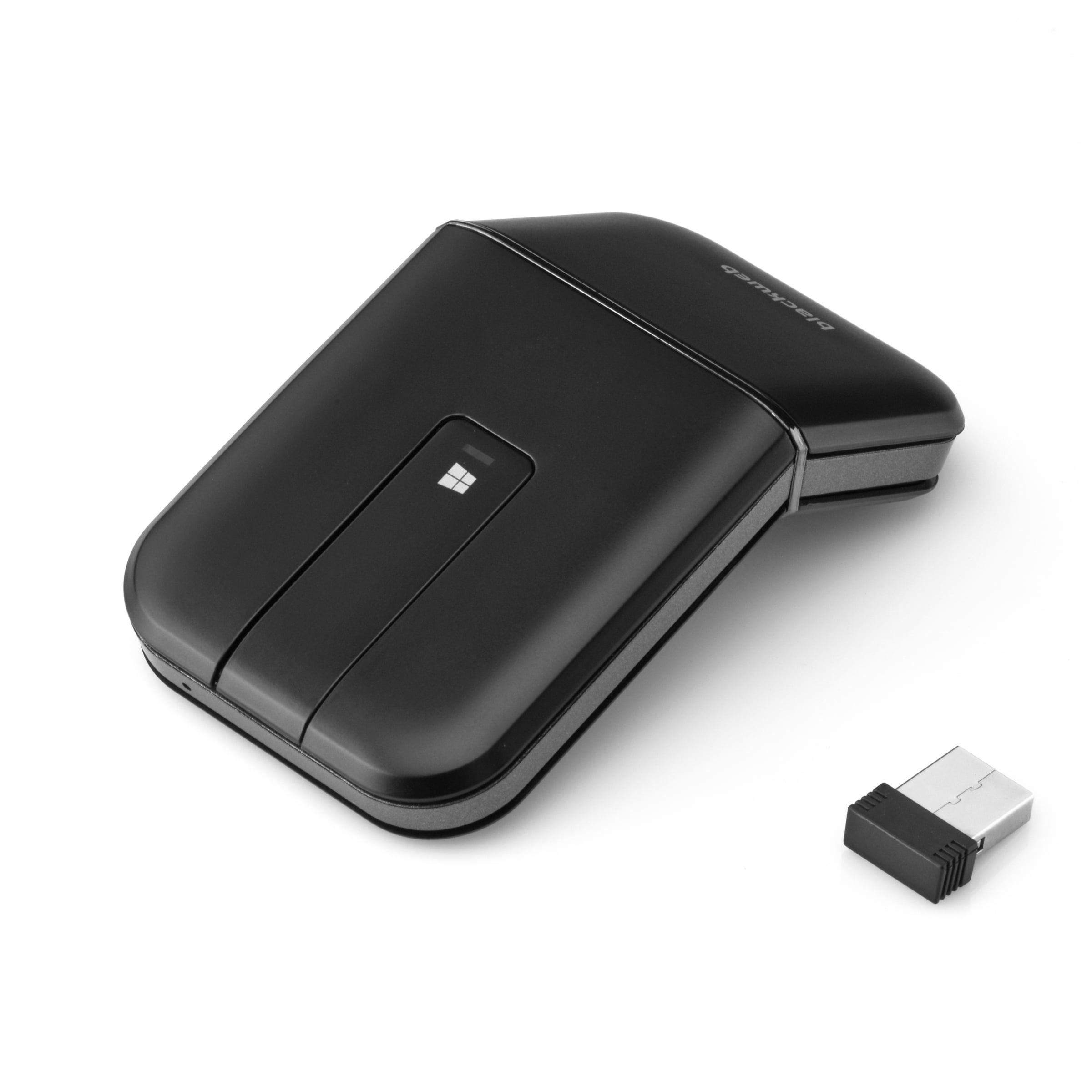 86a80d69c2f BlackWeb Wireless Bluetooth Touch Mouse. 75 ft. Range - Walmart.com