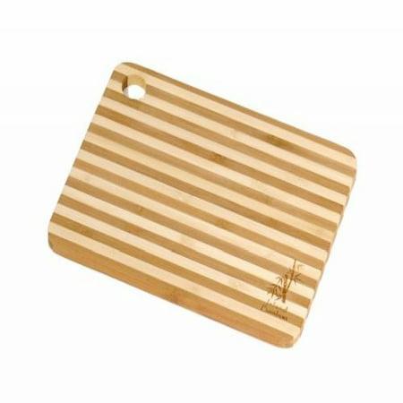 - Island Bamboo HC8MG Cuisin-Aire Honey Stripe Cutting Board, Mini, 8-Inch by 6-Inch