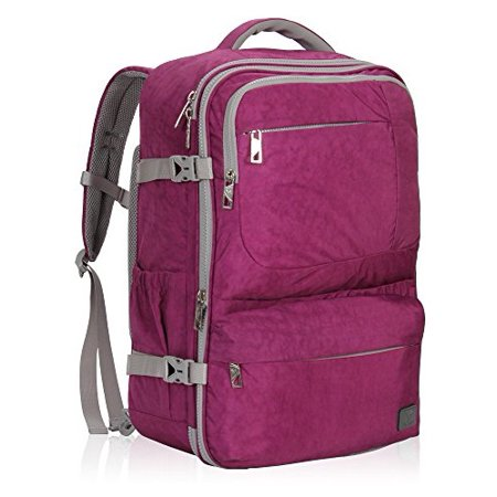 61dee4755876 Hynes Eagle - 44L Flight Approved Carry on Backpack Travel Bag - Walmart.com