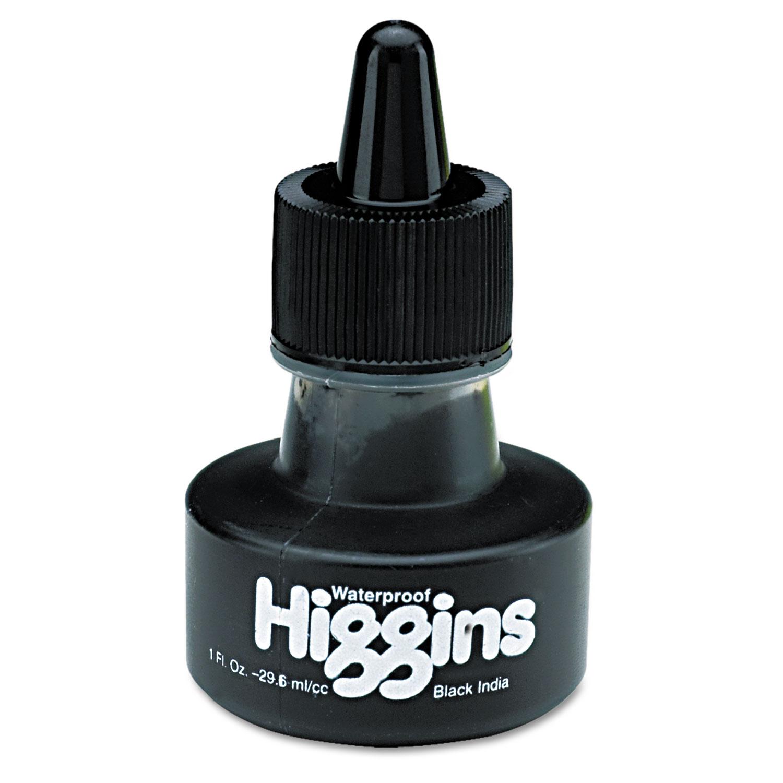 Higgins India Ink, 1oz, Matte Black