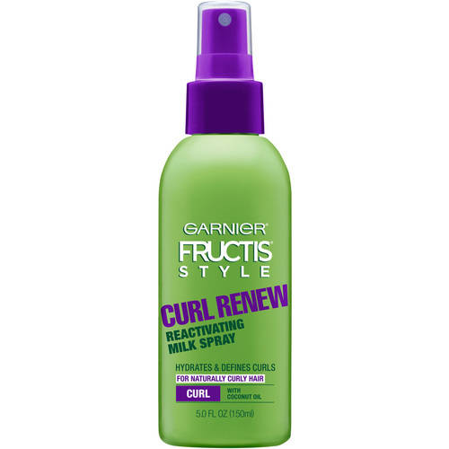 Garnier Fructis Style Curl Renew Reactivating Milk Spray, 5.0 fl oz