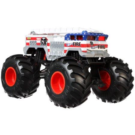 Hot Wheels Monster Trucks 1:24 Scale Alarm Vehicle