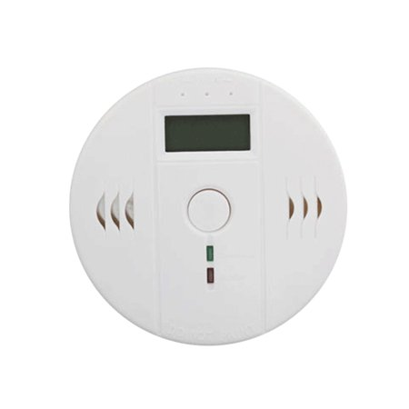 CO Carbon Monoxide Poisoning Smoke Gas Sensor Warning Alarm Detector Kitchen Home Safety High sensitivity LCD photoelectric independent gas sensor