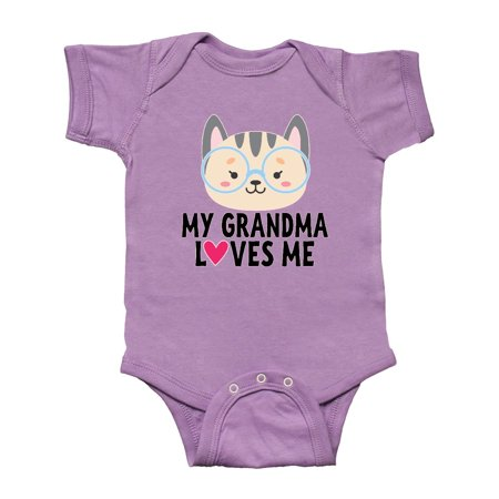 Grandma Loves Me Outfit Infant Creeper - Grandma Outfit