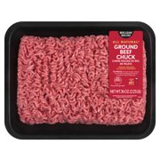 80% Lean/20% Fat, Ground Beef Chuck Tray, 2.25 Lbs
