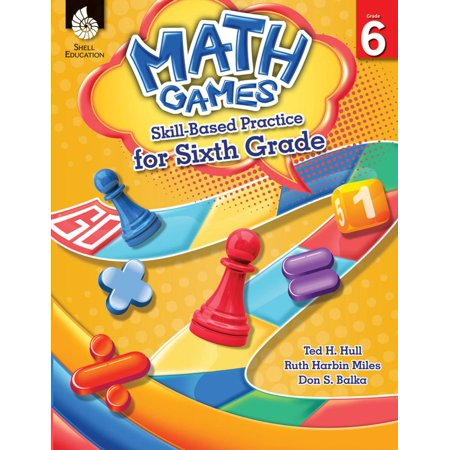Math Games: Skill-Based Practice for Sixth Grade -