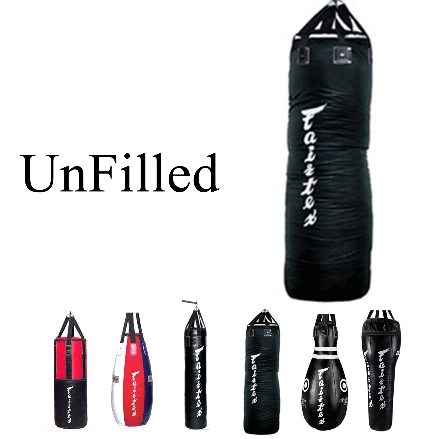 FAIRTEX HB15 TEAR DROP BAG PUNCH MUAY THAI MMA BOXING UNFILLED EXPRESS SHIPPING