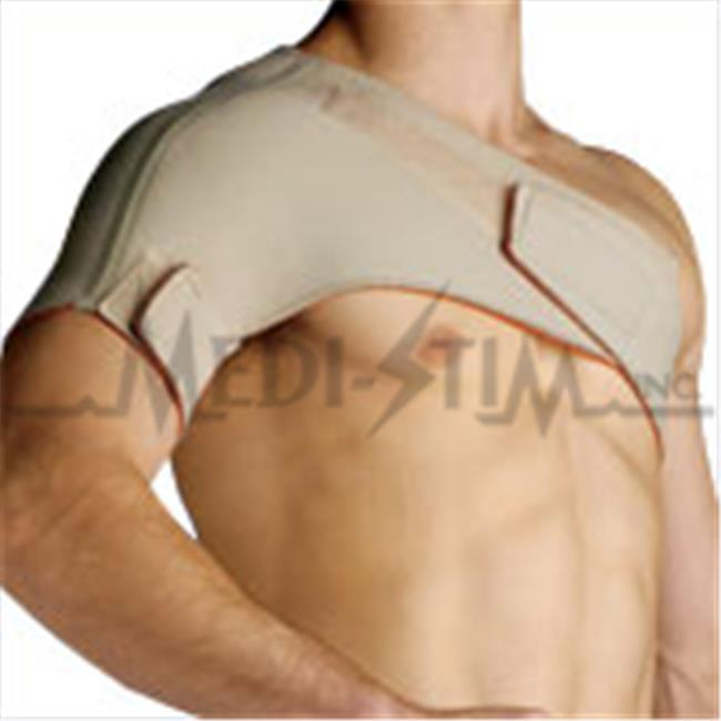 Thermoskin CSS86230 Conductive Universal Shoulder Wrap - XL 43.25 in. - 47.25 in. Chest