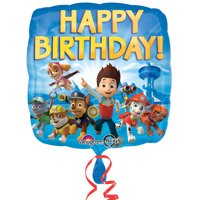 Paw Patrol Party Supplies 2 Pack Foil Balloons