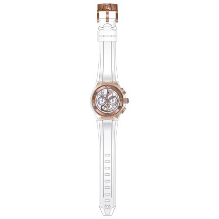 Technomarine TM-115067 Unisex Cruise Dream Chrono White and Rose Gold Dial Interchangeable Silicone Strap Dive Watch